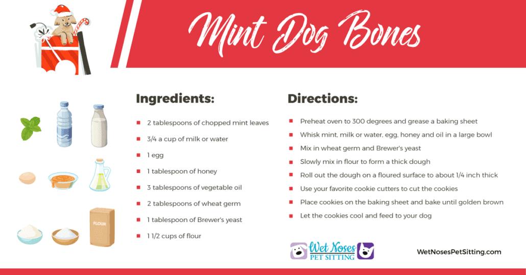 Mint Dog Bones Recipe
