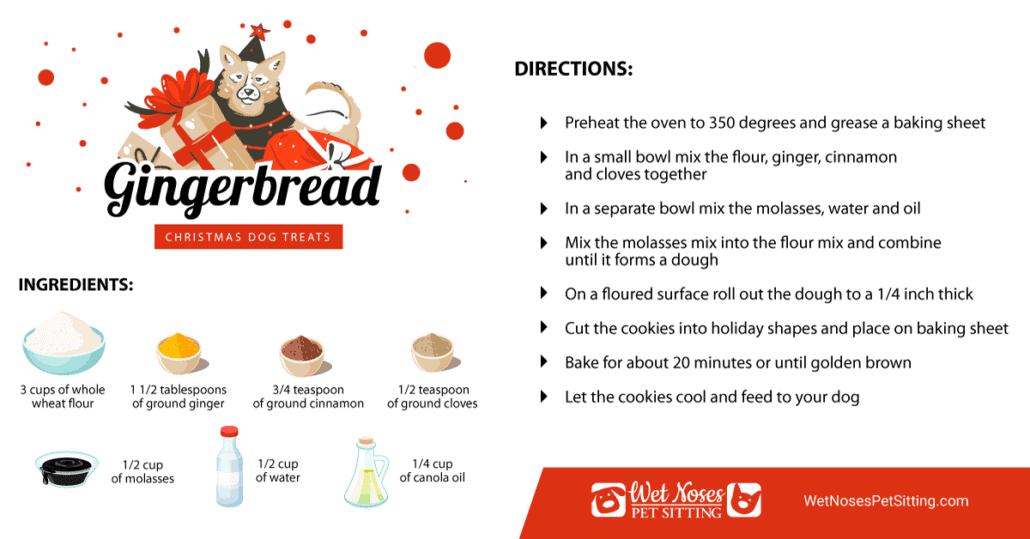 Gingerbread Christmas Dog Treats Recipe