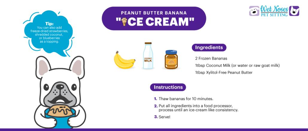 "Peanut Butter Banana ""Ice Cream"" Recipe"