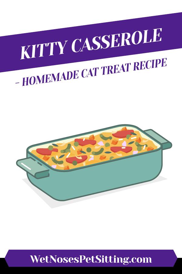 Kitty Casserole - Homemade Cat Treat Recipe Header