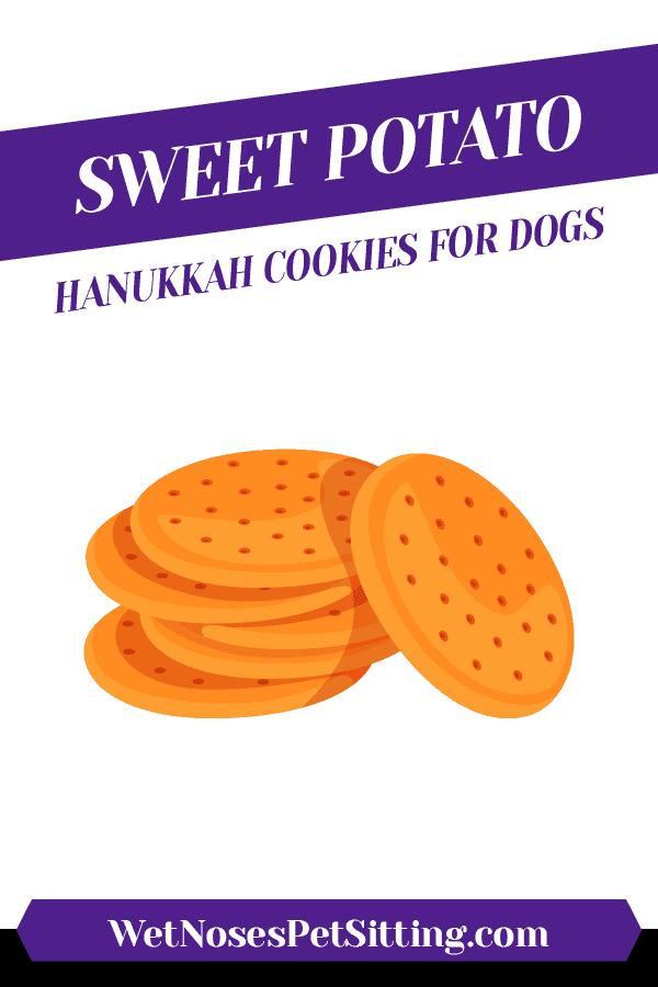 Sweet Potato Hanukkah Cookies for Dogs Header