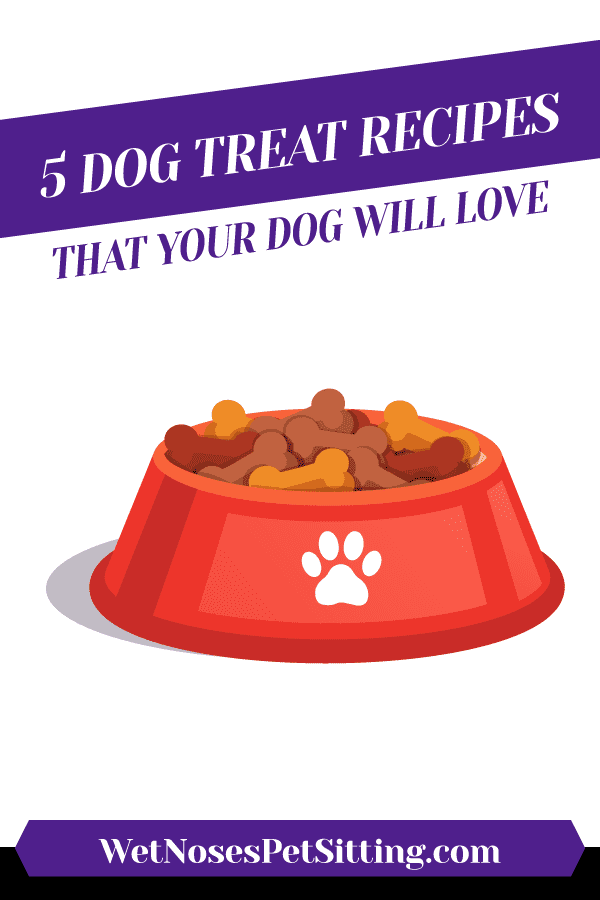 5 Dog Treat Recipes That Your Dog Will Love Header