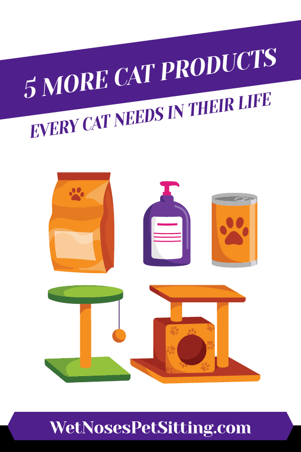 5 More Cat Products EVery Cat Needs in Their Life Header