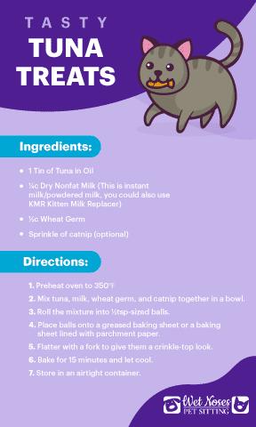 Tasty Tuna Treats Recipe Card
